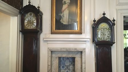 A couple of clocks in Christchurch mansion Picture: MEGAN ALDOUS