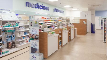 The new shop will offer pharmacy services Picture: IAN WILSON/BOOTS UK