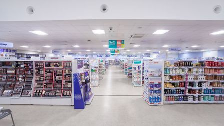 Inside the new Boots store at Beardmore Park Picture: IAN WILSON/BOOTS UK