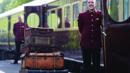 A luxury trip on the Northern Belle is coming to Ipswich this Christmas. File photo of the Northern