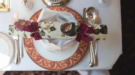 Tableware on board the Northern Belle. Picture: NORTHERN BELLE