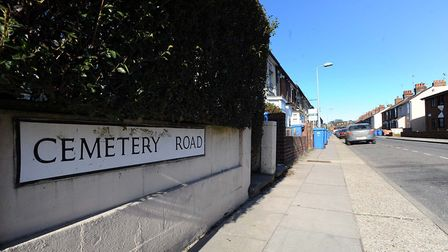 Cemetery Road in Ipswich Picture: ARCHANT