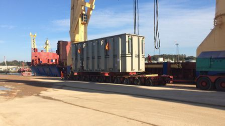 The convoys will move out of Ipswich in the early hours of the next two weekends. Picture: SUFFOLK H