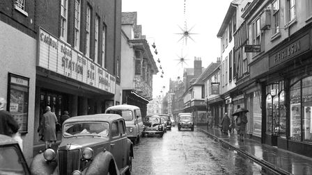 The Buttermarket, Ipswich, in December 1963, which prompted a letter from Dennis Driver Picture: I