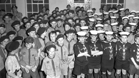 Were you at the opening of the new Scout Headquarters in Arcade Street, Ipswich, in April 1964? Pict