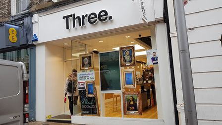 Three Shop, Ipswich, was broken in to in the early hours of the morning. Oct 2018 Byline: Rac