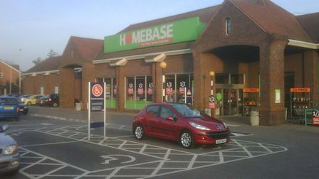 Plans have been lodged for development at the Homebase store in Warren Heath Picture: ARCHANT