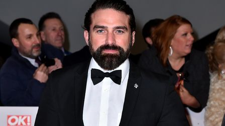 Ant Middleton attending the National Television Awards 2018 held at the O2 Arena, London. Picture: P