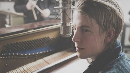 Tom Odell at Thetford Forest, July 2015. Photo Andrew Whitton