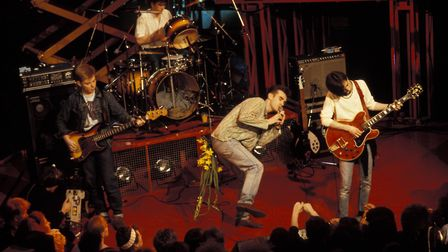 The Smiths performing live on The Tube Photo: Getty /Pete Cronin/Redferns