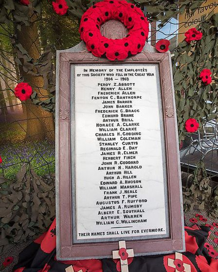 The restored war memorial Picture: ANGLIA PICTURE AGENCY