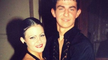 Robin Windsor in his earlier dancing days Picture: CONTRIBUTED