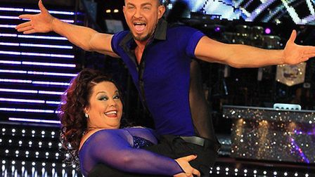 Robin Windsor dances with Lisa Riley Picture: BERETTA SIMS / REX FEATURES