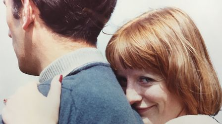 Susie Dyer and husband Tony. They married in 1974 Picture: Courtesy Ben Dyer
