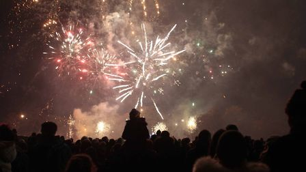 Fireworks fans can still attend a number of displays this week. Picture: NIGEL BROWN