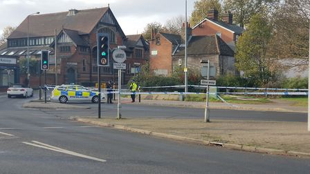 Police have launched an investigation into how the woman was injured Picture: ADAM HOWLETT