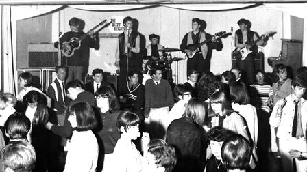 A popular venue was the Forum at Felixstowe. Dizzy Heights were there in 1966 with Shane Twomey, Jac