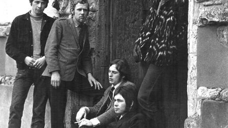 Cool School formed in 1968, they played gigs all over Suffolk and Norfolk. In the picture, from the