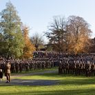 Thousands of people turned out for the Remembrance Day service in Christchurch Park Picture: SARAH
