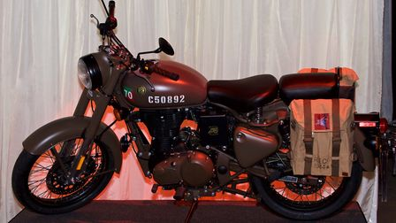 A charity auction at the Armistice Hall on Saturday helped raise £27,000 for charity. This replica