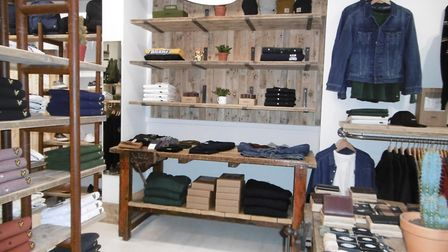 Uniform Reaseach Ipswich. A new look and a rebrand for the Queen Street boutique. Picture: DAVID