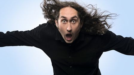 Comedian Ross Noble performed at the Ipswich Regent theatre tonight Picture: JOHN MCMURTRIE