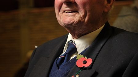 World War Two veteran Sonny Wright Picture: SARAH LUCY BROWN