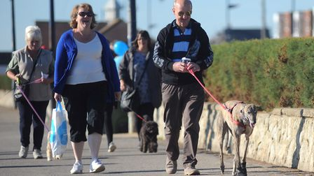 Dogs must be kept on leads on Felixstowe seafront - now people are being asked if the rules should a