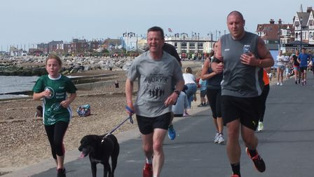 Dogs are a regular feature of the weekly Felixstowe parkrun. Picture: FELIXSTOWE PARKRUN FACEBOOK PA