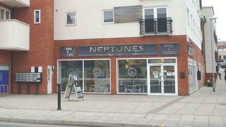 The Neptunes Fish and Chip shop, near Ipswich Waterfront Picture: ARCHANT
