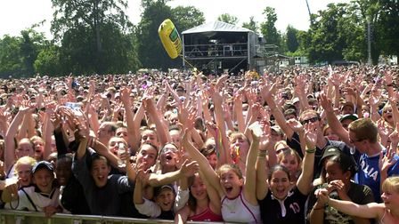 Tens of thousands of Ed Sheeran fans will be heading to Chantry Park for four nights next August. P