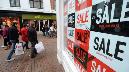 Shoppers will hit the sales in November. Picture: PHIL MORLEY