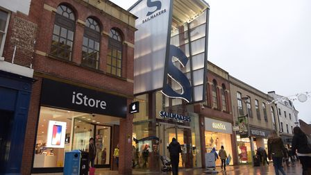 Sailmakers shopping centre in Ipswich will see numerous sales in their stores. Picture: SARAH LUCY