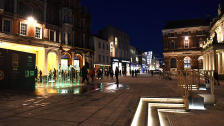 The new deveopment is now ready for the Christmas shoppers Picture: SARAH LUCY BROWN