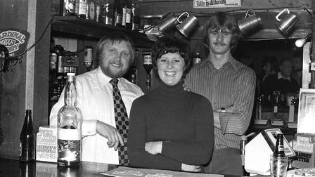 Who was pulling pints at the Wildman in 1974? Picture: ARCHANT
