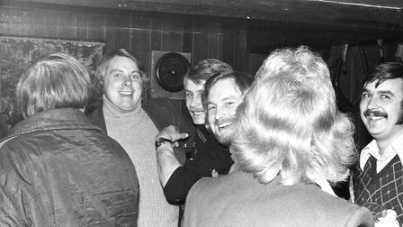 Nice evening drink inside the pub in 1974 Picture: ARCHANT