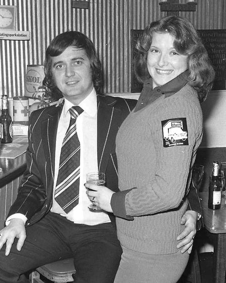Can you name this duo from that night in 1974? Picture: ARCHANT
