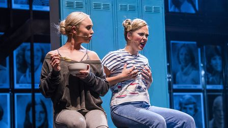 Jorgie Porter plays Iris Kelly in Fame - The Musical at the Ipswich Regent Picture: TRISTRAM KENTON