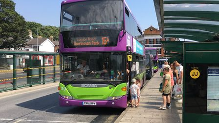 Ipswich Buses are putting up their fares for a second time this year. Picture: ADAM HOWLETT