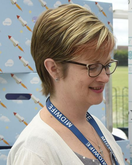 Consultant midwife at Ipswich Hosptial Helen Smith Picture: BABY BOX CO