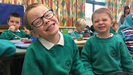 Lucas and Jacob tell me their favourite things on the menu - watch the video to find out more Pictur