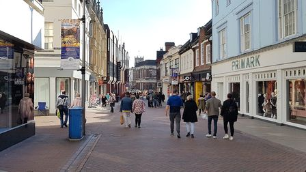 Will the new scheme bring people back to Ipswich town centre? Picture: NEIL PERRY