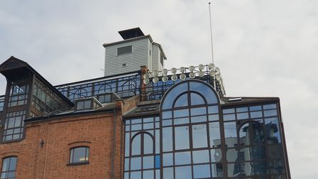 Hundreds of speakers have been mounted on bulidings around the Waterfront in Ipswich to play the Cla