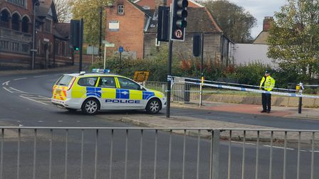 A woman was found with signigicant head injuries on Stoke Bridge on Saturday night Picture: ADAM HOW