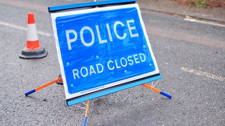 Police are at the scene of a collision in Freston Picture: SARAH LUCY BROWN