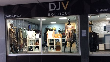 DJV Boutique in Cox Lane, Ipswich at night. Picture: DJV BOUTIQUE