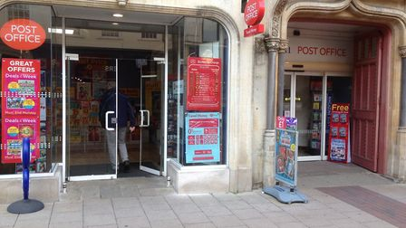 The post office has moved into WH Smith. Picture: JUDY RIMMER
