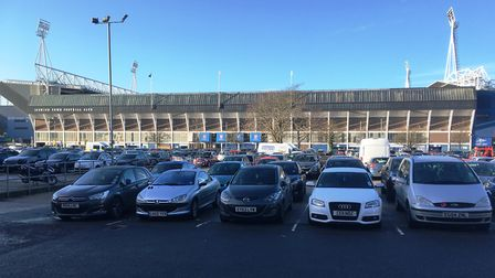 The council owns the car park - and the football ground behind it (but not the stands built on it).