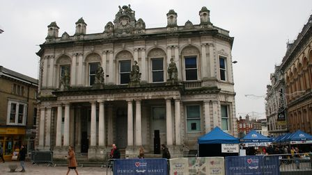 Ipswich's former Post Office building badly needs a new tenant. Picyture: PAUL GEATER