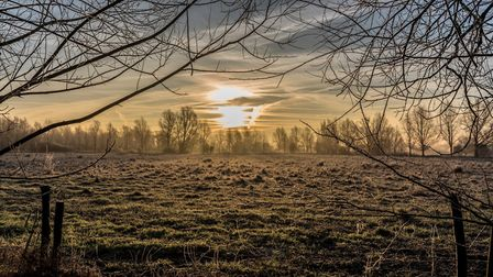 Grab your scraper - Suffolk has woken to a layer of frost Picture: TIM SCOTT